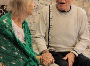 постояльцы дома престарелых
