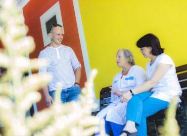 дом для престарелых общение