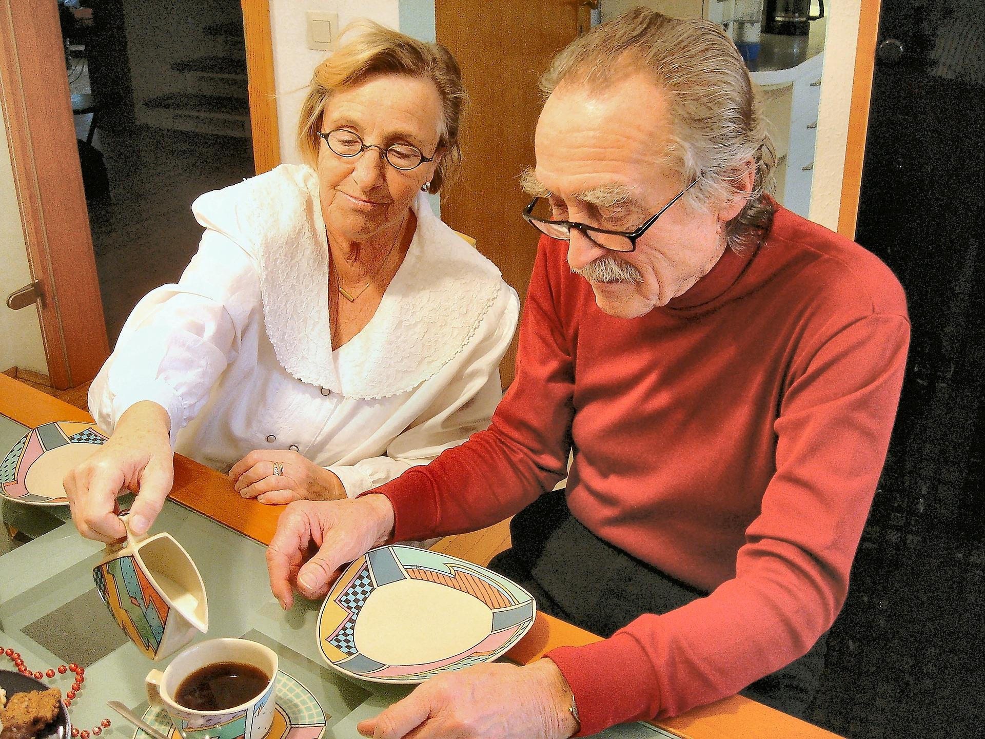 уют и уход в доме престарелых